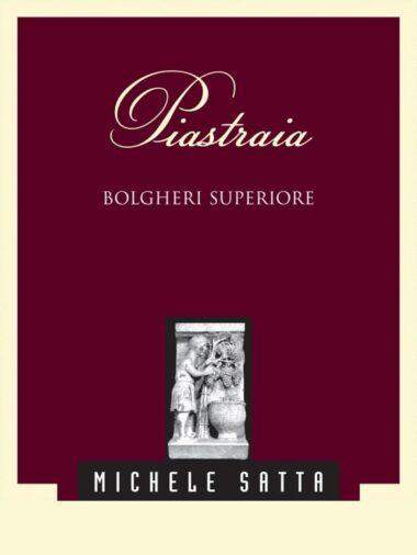 PIASTRAIA Bolgheri Superiore doc 2015